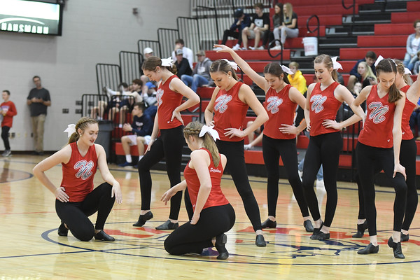 Dance Team @ Waverly BB game