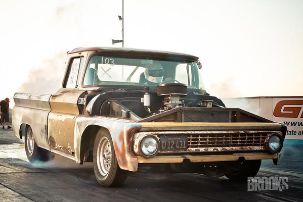 August 18 Sac Raceway Chevy Truck