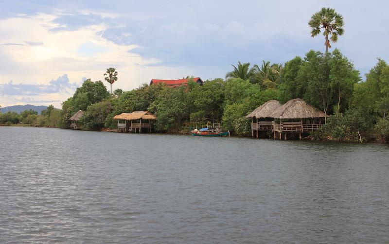 Charming riverside homes