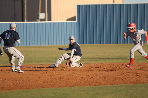 2014 Sulphur at Marlow baseball