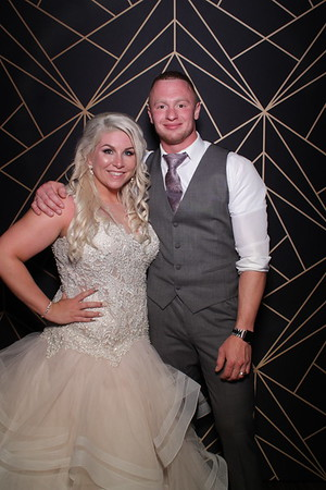 Lexi and Justin's Allure Wedding Mirror Photo Booth