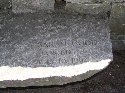Salem Witch Victims Memorial