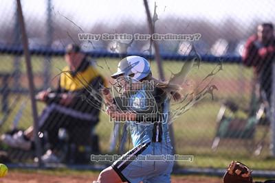Varsity Girls Softball 25Apr13