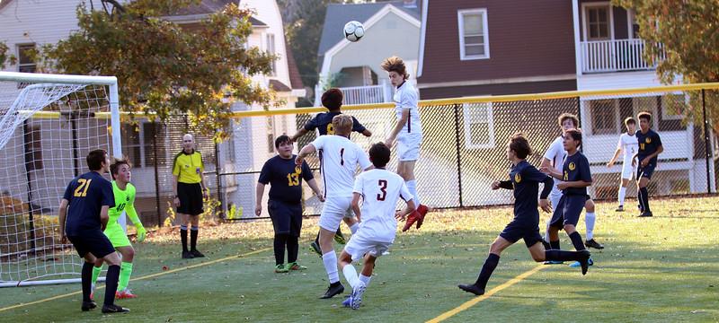 2020_10_22 GMHS Varsity soccer vs HMTCA