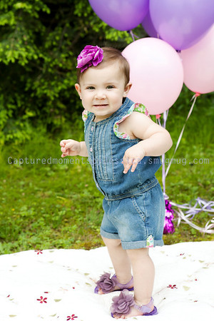 Brynley is 1!