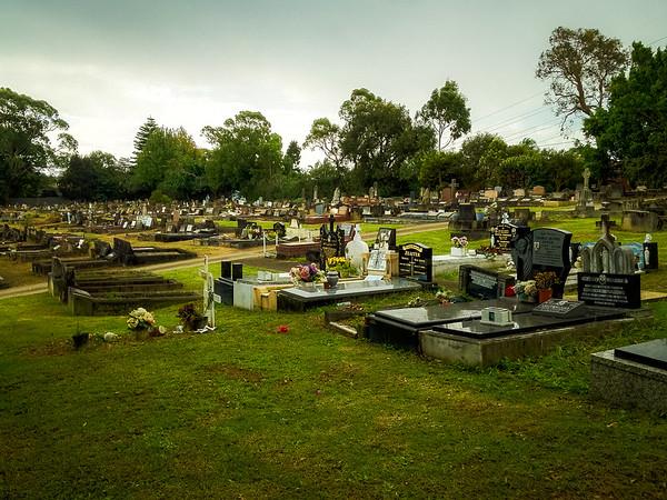 North Rocks : Parma Pl Catholic Cemetery