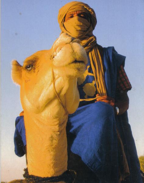 038_Timbuktu. Tuareg Chief on his Camel.jpg
