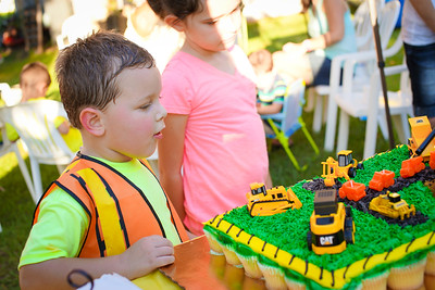 Aaron's Fourth Birthday