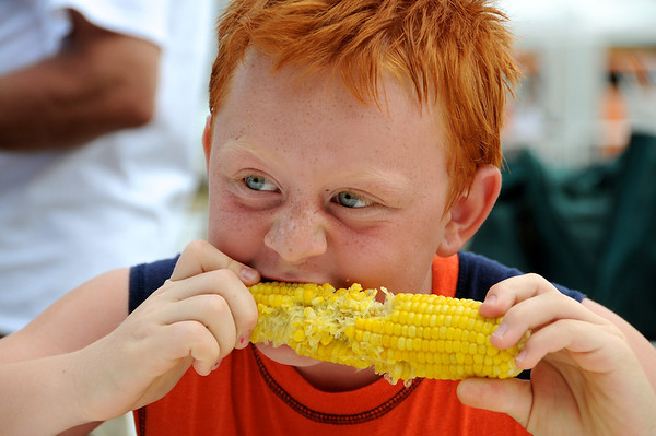 Corn Eating Contest - Corn Roast Festival 2010