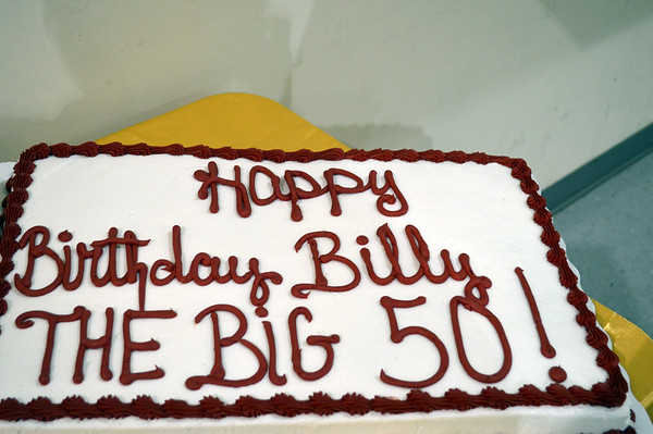 Billy's 50th Birthday