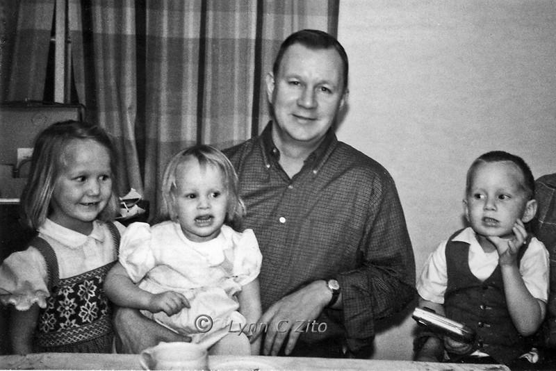 LYNN,JOY,DAD & SCOTT FEBRUARY 17, 1963