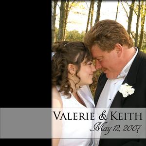 Valerie & Keith Album Spread