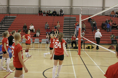 Middle School Girls Volleyball - 2/21/2006 Hesperia