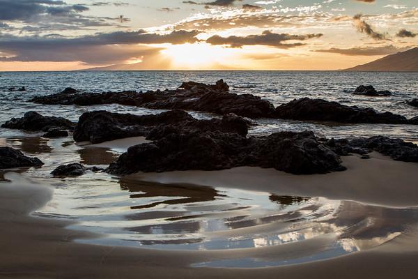 Maui Sunsets - April 2014