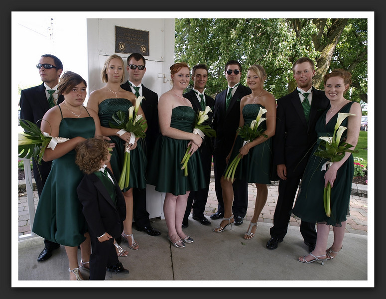 Bridal Party Family Shots at Stayner Gazebo 2009 08-29 030 .jpg