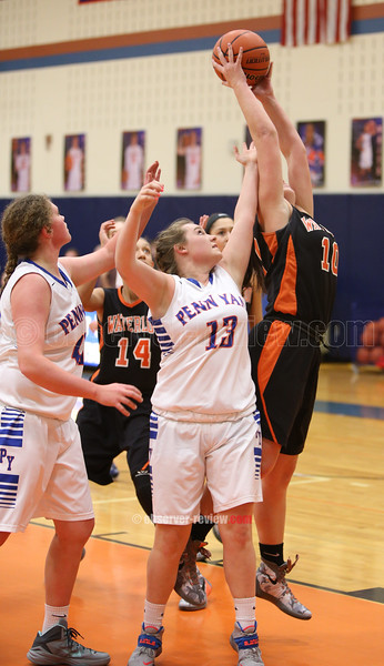 Penn Yan Basketball 1-22-16