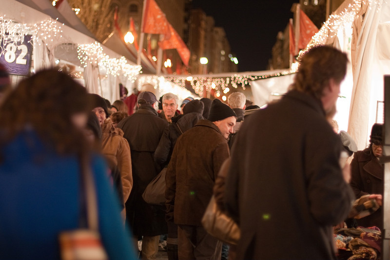 The Downtown Holiday Market.