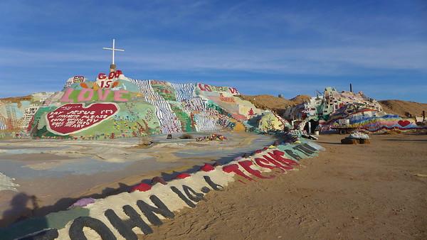 Salvation Mountain and the Salton Sea 12.8.15