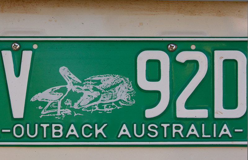 Genevieve Hathaway_The Kimberley_Outback License Plate.jpg