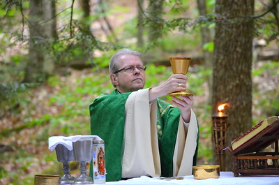Mass with Bishop Scharfenberger