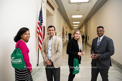 Schar students on Capitol Hill