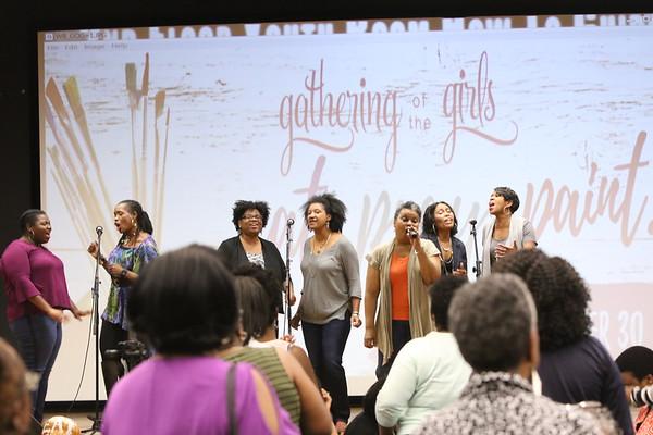 9/30/16 - Gathering of the Girls - Eat. Pray.Paint.