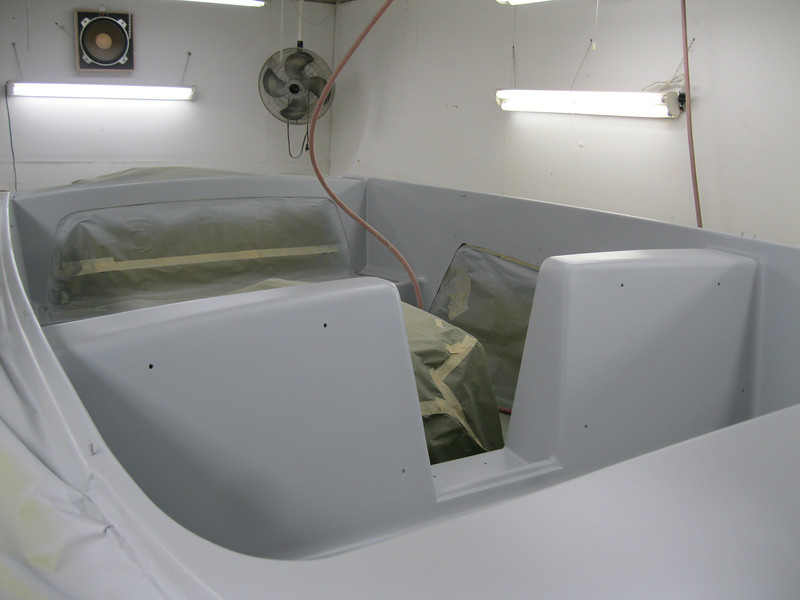Another view of inside with primer.