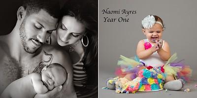 Naomi Year One Album Design