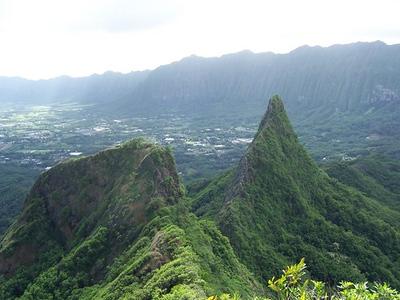 Mount Olomana, Oahu, Hawaii