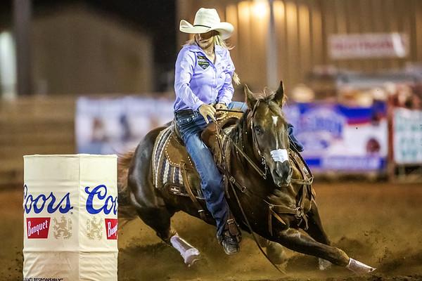 2021 Lakeside Rodeo - Friday Barrel Racing