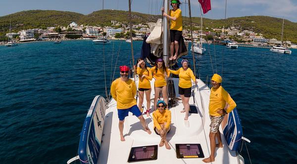 Sailing the Saronic Seas
