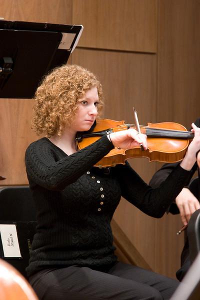 Katy Dubina, viola -- Hopkins Symphony Orchestra, March 2008