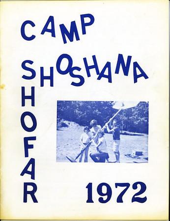 Camp Shoshana Shofar - 1972