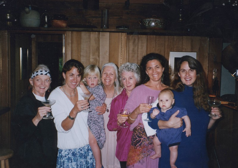 1992 - Brett, Hunter, Sands, Joan K, Barbara, Emma, Tracy, Vicki Johnson.jpeg