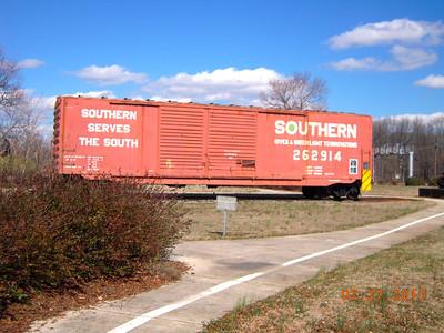 Spencer NC Transportation Museum