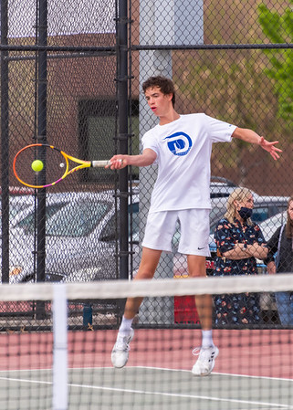 2021-04-15 Dixie HS Tennis vs Hurricane - 1st Singles & 1st & 2nd Doubles
