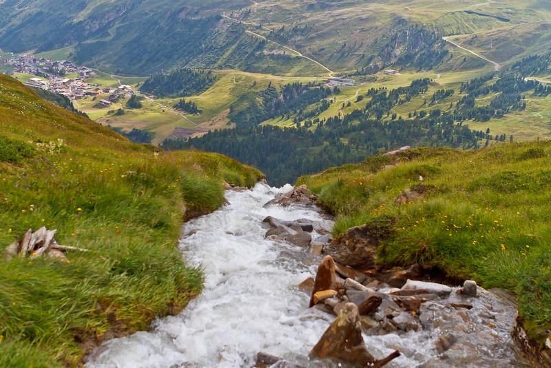 Uitzicht op OberGurgl