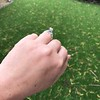 1.71ct Old Mine Cut Diamond Solitaire GIA K SI2 13