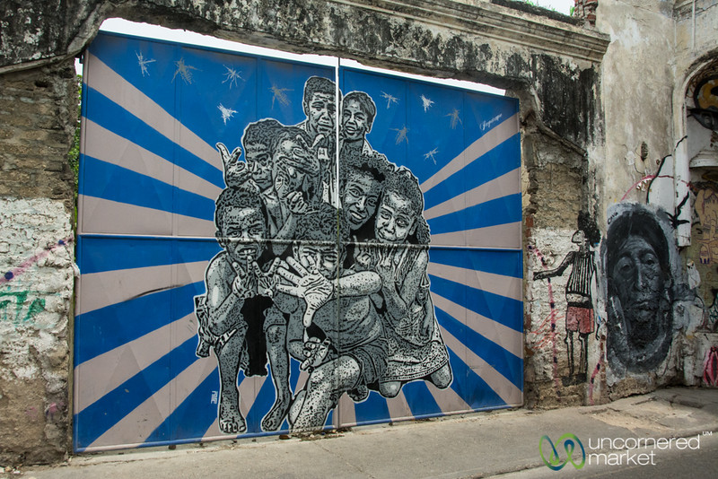 Street Art in Getsemani, Cartagena
