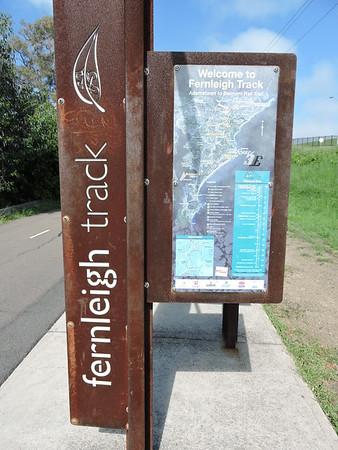 Fernleigh Track from Adamstown to Belmont, NSW - Australia