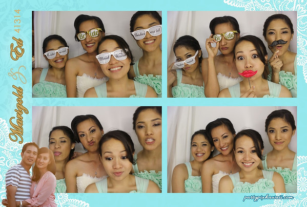 Marigold & Ed's Wedding (Luxury Photo Booth)