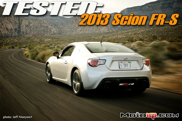 Scion FR-S Test