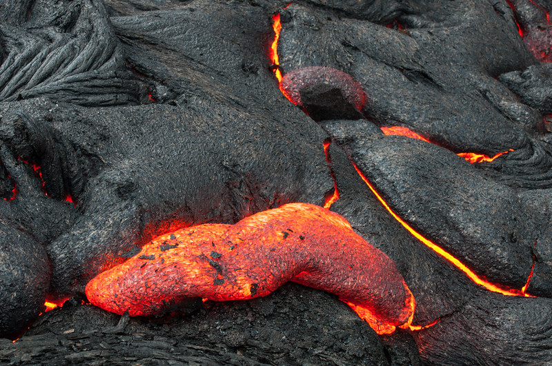 Lava Pressure Being Released