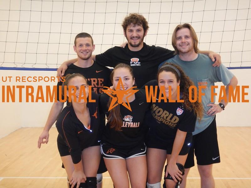 Fall 2015 Wallyball Champion Title IX