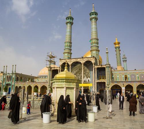 Iran, South -> North 2015