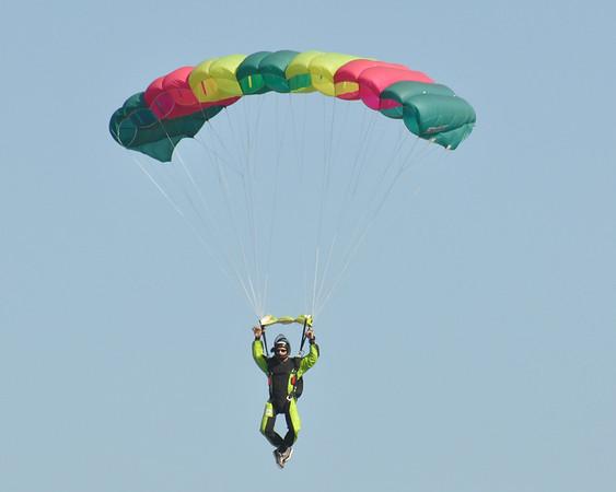 Civilian Parachutist