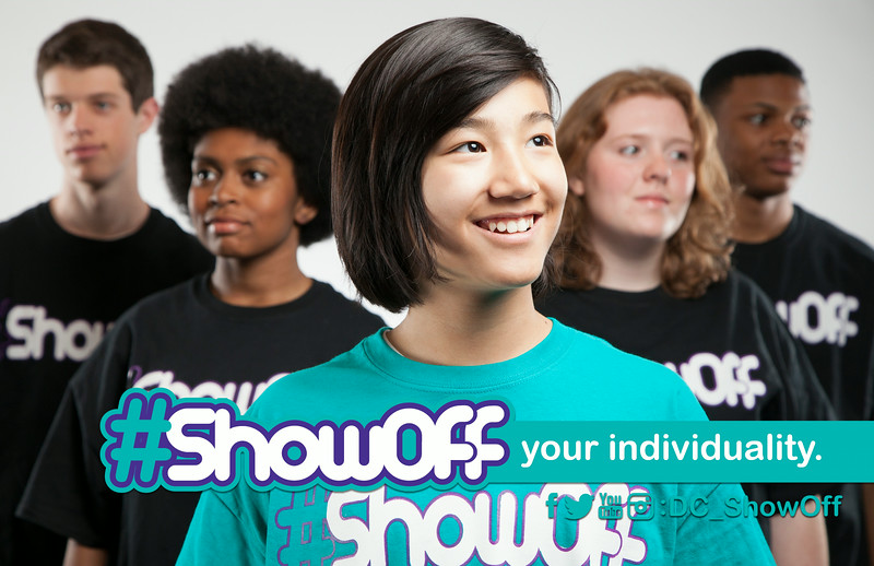 #ShowOff Your Individuality: Promotes individuality, self-sufficient decision making, and standing out from the crowd.