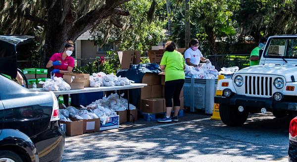 Corona Project, All Faiths Food Bank Mobile Pantry