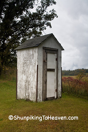 Cemetery Outhouses