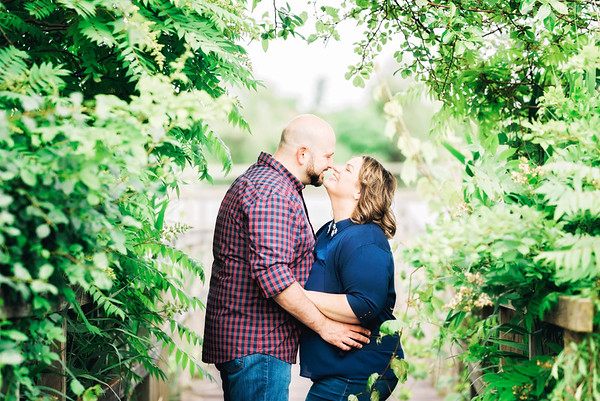 Amy & Greg Engagement Session - Crosswinds Marsh